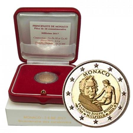 "2018 * 2 Euro MONACO ""250e François-Joseph Bosio"" BE"