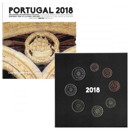 2018 * PORTUGAL Coffret Officiel Euro BU