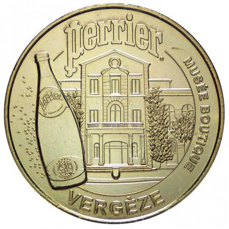 2012 * Medaille touristique musée boutique Perrier