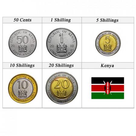 Ans Divers * Série 5 pièces Kenya