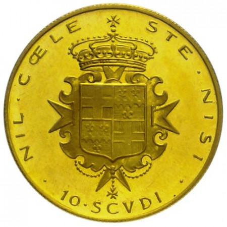 1967 * 10 scudi SMOM or