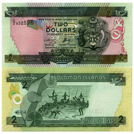ND (2004) * Billet Îles Salomon 2 Dollars (p25) NEUF