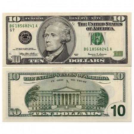 1999 * Billet États-Unis 10 dollars G NEUF Chicago