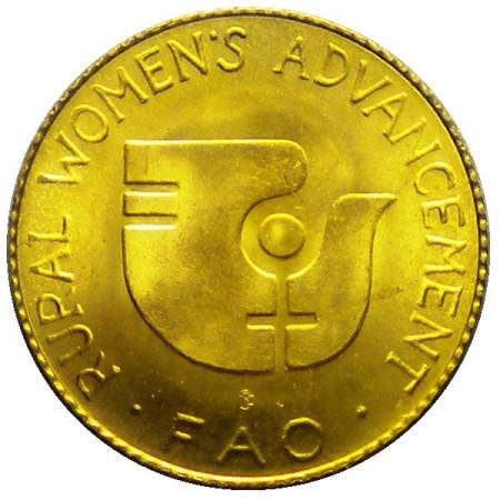 """1980 * 20 Pa'anga Or Tonga """"Série F.A.O."""""""