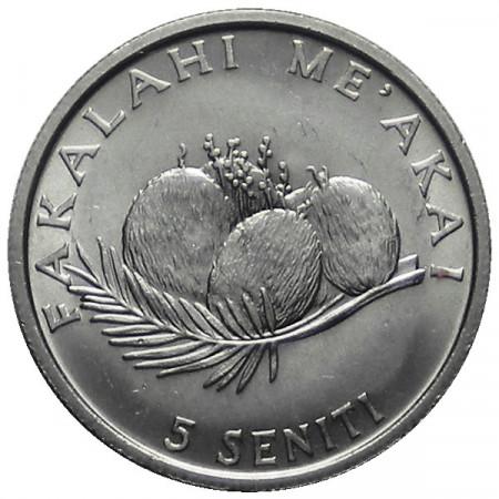 "1981 * 5 Seniti Tonga ""Série F.A.O."""