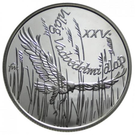 "1988 * 500 Forint Argent Hongrie ""25e Fondation WWF"" (KM 661) BE"