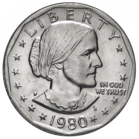 1980 * 1 Dollar États-Unis Susan B. Anthony BU Philadelphie