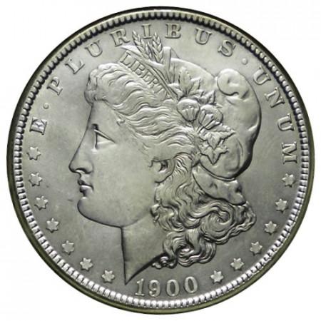 """1900 (P) * 1 Dollar Argent États-Unis """"Morgan"""" Philadelphie (KM 110) SUP+"""