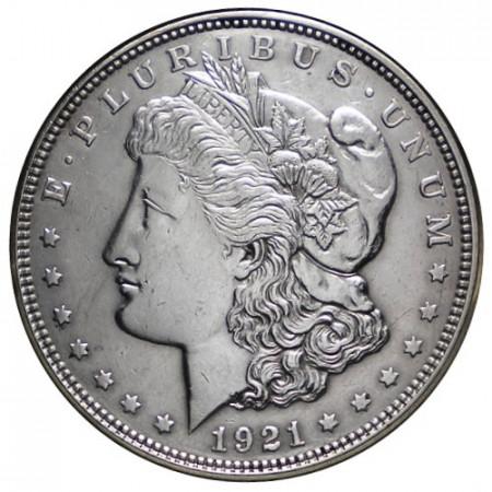 """1921 (P) * 1 Dollar Argent États-Unis """"Morgan"""" Philadelphie (KM 110) SUP+"""