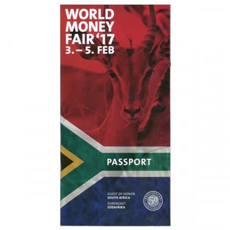 """2017 * Passport World Money Fair """"South Africa Mint"""""""