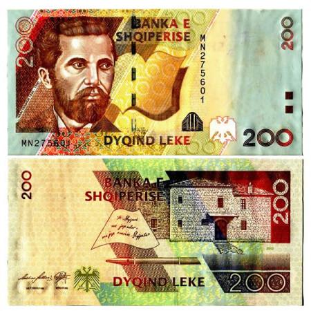 """2012 * Billet Albanie 200 Leke """"N Frasheri"""" (p71b) NEUF"""