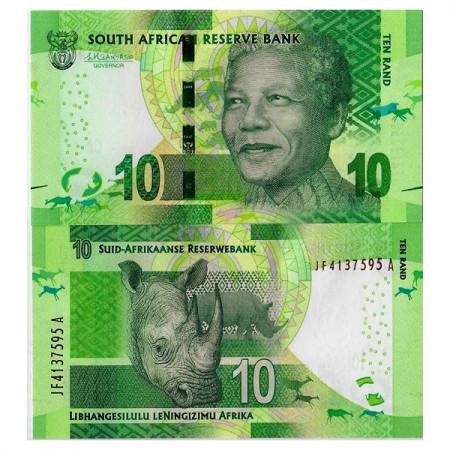 "ND (2016) * Billet Afrique du Sud 10 Rand ""Nelson R Mandela"" (p138b) NEUF"
