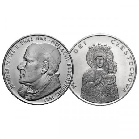 """1983 * Médaille VATICAN """"Jean-Paul II - Mater dei Czestochowa"""" FDC"""
