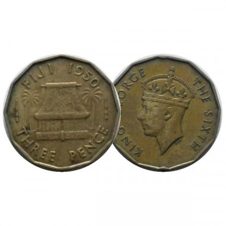 "1950 * 3 Pence Fidji ""George VI"" (KM 18) TTB"