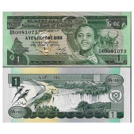 """EE.1969 (1987) * Billet Éthiopie 1 Birr """"Blue Nile"""" (p36) NEUF"""