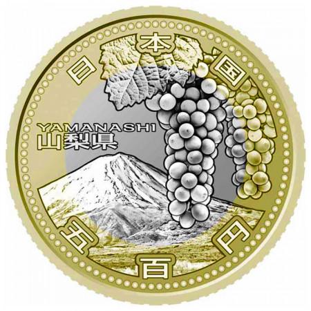 2013 * 500 yen Japon Préfecture Yamanashi