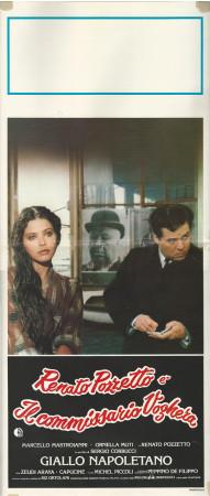 "(1979) * Cartel Cinematográfico ""Giallo Napoletano - Pozzetto, Mastroianni, Muti"" Thriller (B)"