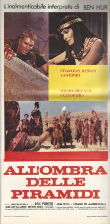 """1972 * Cartel Cinematográfico """"Marco Antonio y Cleopatra - Charlton Heston"""""""