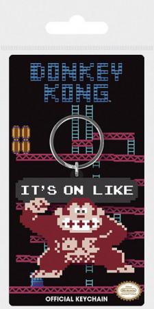 "Llavero * Videojuegos e Internet ""Nintendo Donkey Kong - It's On Like"" Mercancía Oficial (RK38705)"