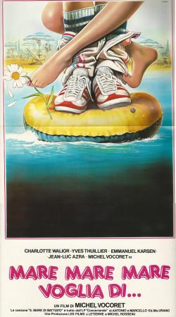 """1983 * Cartel Cinematográfico """"Mare, Mare, Voglia Di... - Michel Vocoret """""""