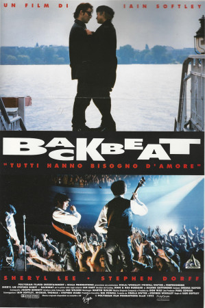 "1994 * Cartel Cinematográfico ""Backbeat - Sheryl Lee"""