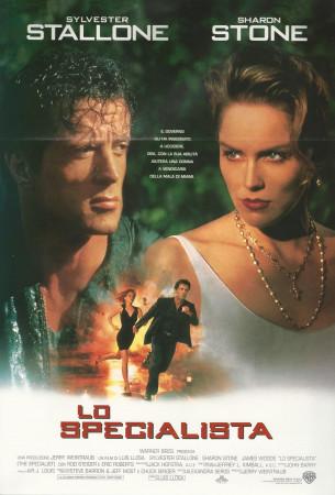 """1994 * Cartel Cinematográfico """"El Especialista - Sylvester Stallone"""""""