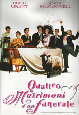 """1994 * Cartel Cinematográfico """"Cuatro Bodas y Un Funeral - Hugh Grant"""""""