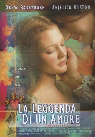 """1998 * Cartel Cinematográfico """"Por Siempre Jamás - Drew Barrymore"""""""