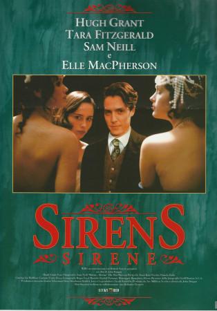 "1994 * Cartel Cinematográfico ""Sirens - Hugh Grant"""