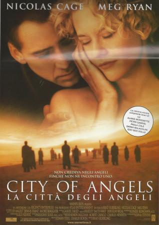 """1998 * Cartel Cinematográfico """"City of Angels - Nicolas Cage"""""""
