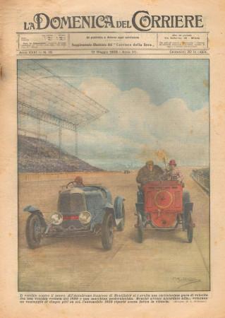 """1929 * Revista Histórica Original """"La Domenica Del Corriere (N°19) - Il Vecchio Contro Il Nuovo"""""""