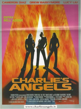 """2000 * Cartel Cinematográfico """"Los Àngeles de Charlie - Cameron Diaz"""""""