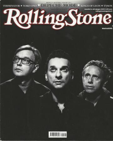 "2009 (N68) * Portada de Revista Rolling Stone Original ""Depeche Mode"" en Passepartout"