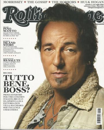 "2009 (N69) * Portada de Revista Rolling Stone Original ""Bruce Springsteen"" en Passepartout"