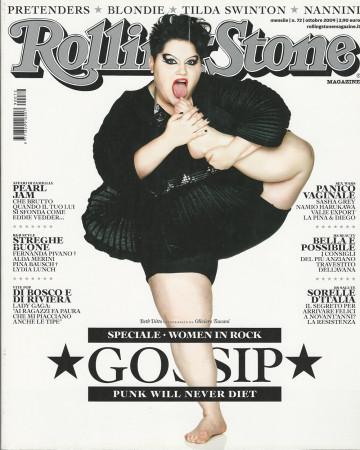 "2009 (N72) * Portada de Revista Rolling Stone Original ""Gossip"" en Passepartout"
