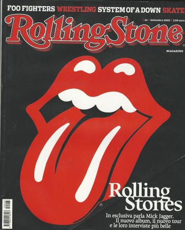"2005 (N23) * Portada de Revista Rolling Stone Original ""Rolling Stones"" en Passepartout"