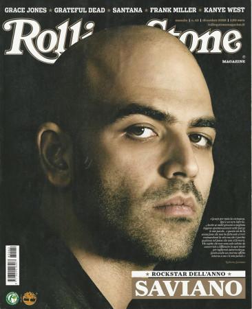 """2008 (N62) * Portada de Revista Rolling Stone Original """"Saviano"""" en Passepartout"""