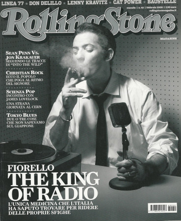 "2008 (N52) * Portada de Revista Rolling Stone Original ""Fiorello"" en Passepartout"
