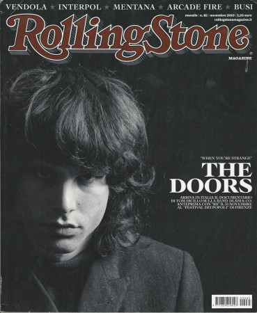 "2010 (N85) * Portada de Revista Rolling Stone Original ""The Doors"" en Passepartout"