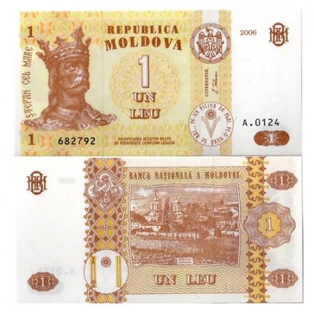 2006 * Billete Moldavia 1 leu