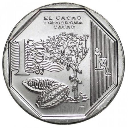 2013 * 1 Nuevo Sol Perú el Cacao