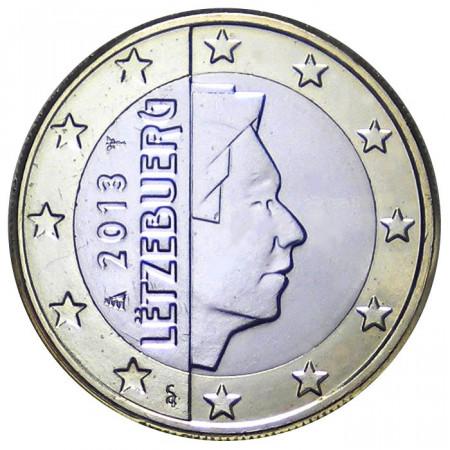 2013 * 1 euro LUXEMBURGO Gran Duque Enrique