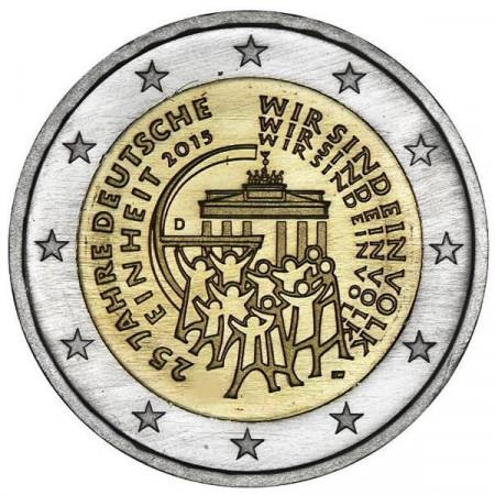 2015 * 2 euro ALEMANIA 25 Aniversario de la Reunificación Alemana
