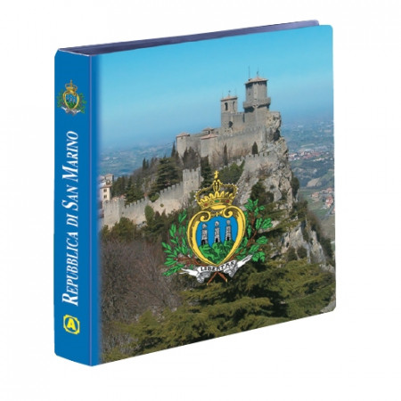 ABAFIL * ALBUM EURO SAN MARINO POR CARTERA OFICIAL