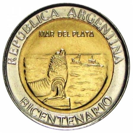 2010 * 1 Peso Argentina - Mar del Plata