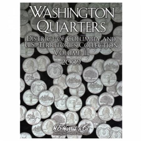 Whitman Folder Cuartos Territoires tomo III
