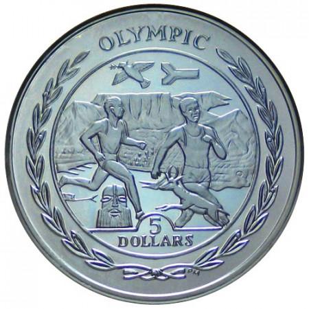2009 * 5 dolars Islas Vírgenes Británicas África