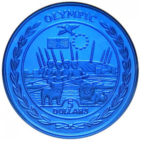 2009 * 5 dolars Islas Vírgenes Británicas Europa
