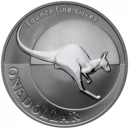 "2004 * 1 Dólar Plata 1 OZ Australia ""Canguro"" FDC"