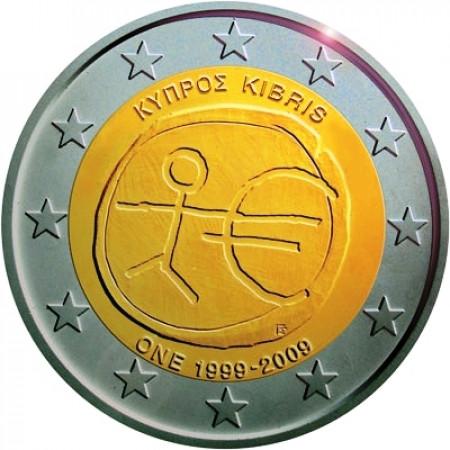 2009 * 2 euro CHIPRE Introducción del Euro